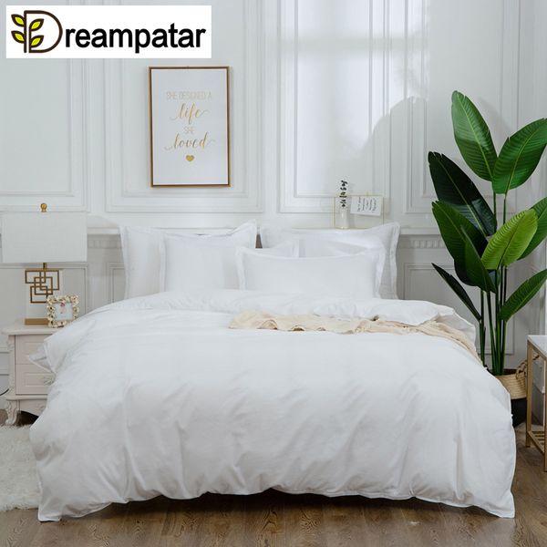 Dreampatar Современные сплошной цвет с градиентом в полоску Комфортное постельное белье Одноместный Двухместный Очень большой стеганый наволочка Постельные принадлежности BY174A