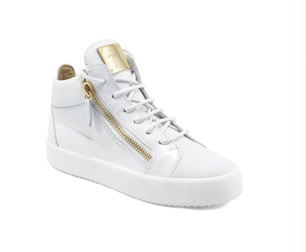 892edd960cc6e Giuseppe‍ Zanotti GZ men and women High-top genuine shoes casual Double  zipper track shoes