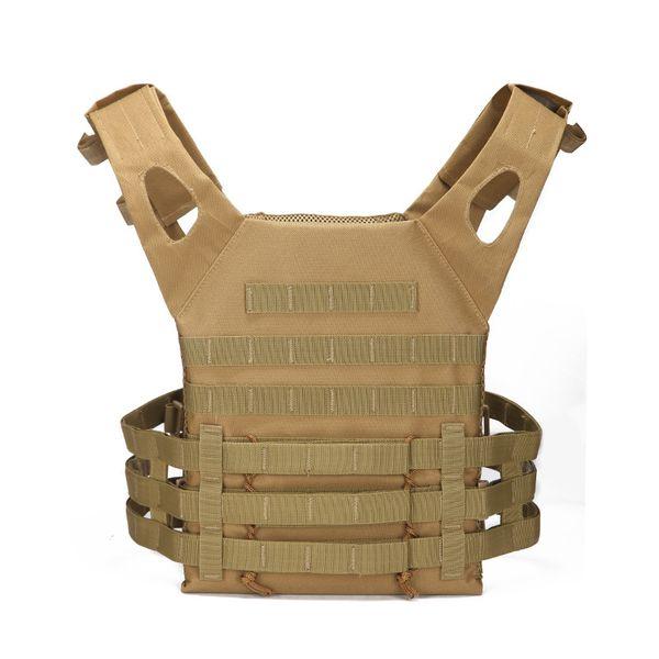 Gilet tattico militare Uomini Army Swat Uniform Gilet Paintball Wargame Wear MOLLE Gilet Scarico Camouflage Combat Camo Vest
