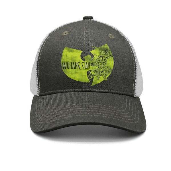 Wu Tang Clan NYC York City Shaolin army-green mens and women trucker cap baseball cool designer personalized hats