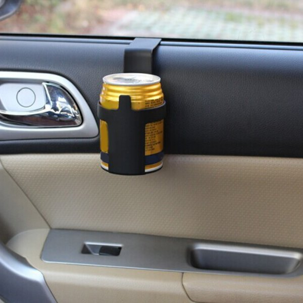 1pcs Black Auto Car Cup Can Drink Bottle Holders container Hook for Truck Interior, Window Dash Mount