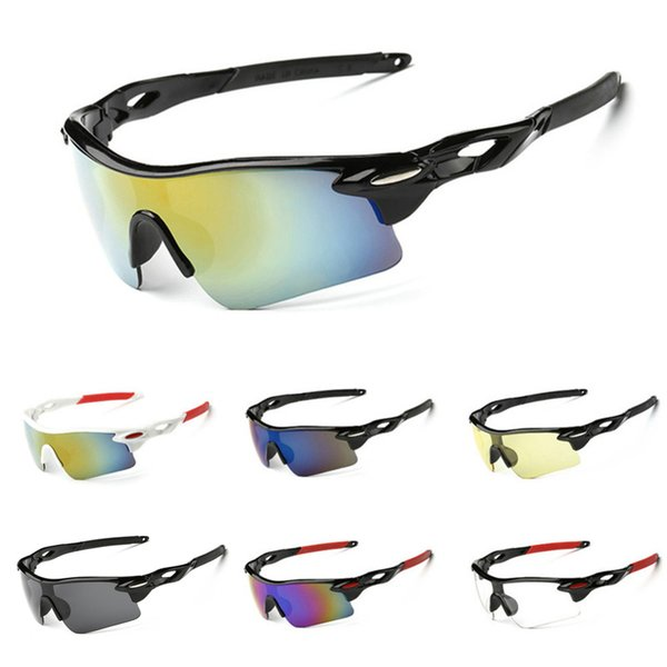 2019 Cycling Sunglasses Fashion Sport Outdoor Sun Glasses for Men Women Bicycle Eyewear Running Driving UV400 Bike Goggle Wholesale Cheap