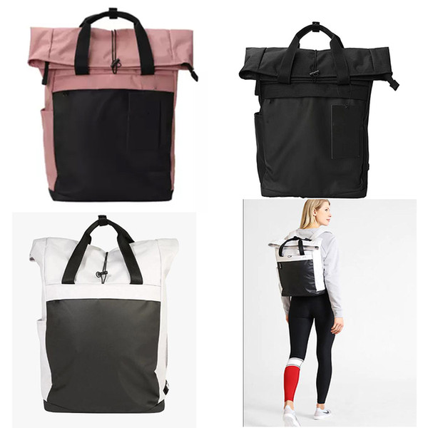Free Shipping Brand N letter designer backpack bag Fashion Women's men's School canvas Sports and leisure Bags teens Punk outdoor style