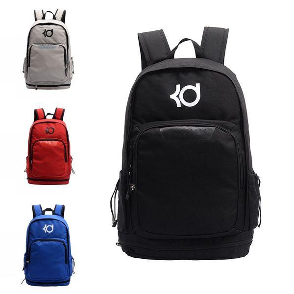 Ünlü Marka KD Tasarımcı Sırt Çantası Erkek Kadın Tasarımcı Çanta Büyük Kapasiteli Eğitim Seyahat Çantaları Kevin Durant Çantası