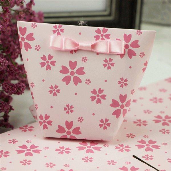 25pcs de flores de color rosa