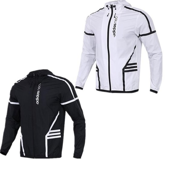 Großhandel 2019 Neo Jacke Männer Frauen Designer Jacke Mantel Luxus Marke Sportswear Langarm Casual Reißverschluss Windbreak Herbst Sportswear Schnell