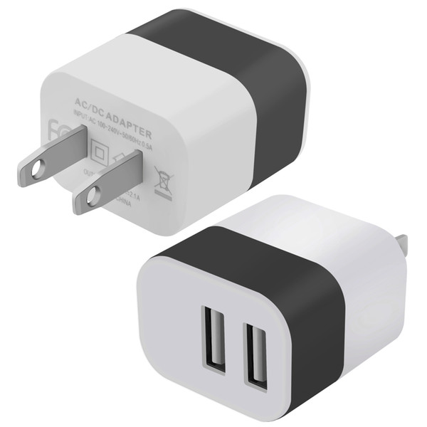 Univer al u b charger adapter 5v 2 1a ac u b wall charger travel adapter for iphone am ung mobile