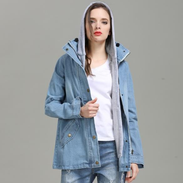 Женская осень дизайнер 2 шт. джинсы куртки с длинным рукавом плюс размер Женская одежда мода стиль повседневная одежда
