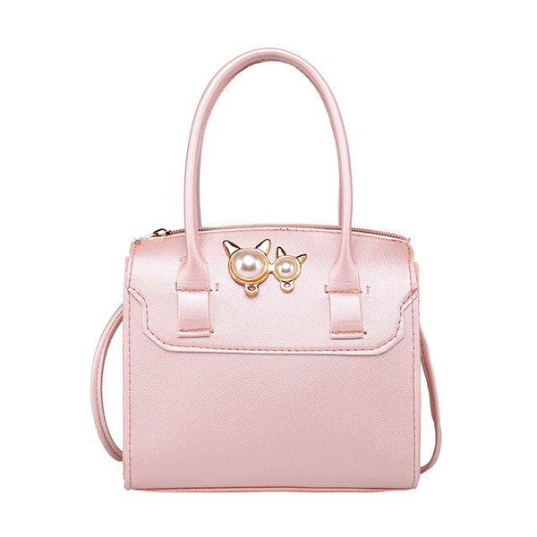 Pequeno Tote Handbag 2020 Ombro New Mulheres Moda Bolsas Messenger Bag cores dos doces bolsa de Flap Mulheres Bolsa Bandoleira