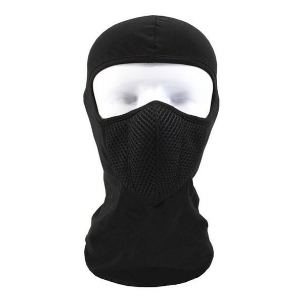 Classique Hot-Selling Cycling Mask Sunscreen Sunscreen Lycra Stretch Respirant Vélo Masque Mode Sports Running Training Unisexe