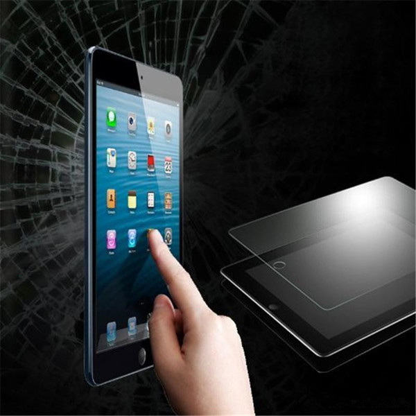100PCS 9H 0.3mm Shatter Proof Explosion Proof Screen Protector Tempered Glass for iPad 2 3 4 Air 2 No Package
