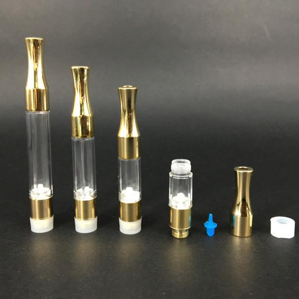 metal tip CE3 Atomizer 510 disposable Cartridge 1 gram 0.5ml G2 Vaporizer Co2 Tank bud touch Gold vape carts top rated