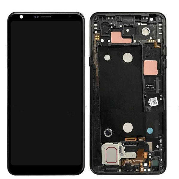 6.2 pulgadas para LG Q Stylo 4 Stylo4 Q710MS Q710MS Q710CS Pantalla LCD digitalizador de pantalla táctil con marco completo Reemplazo de pantalla original