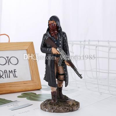 Hot 17CM Game Character Male Action Figure Collection Toys for Gift Playerunknowns home decor Model Figure Toys