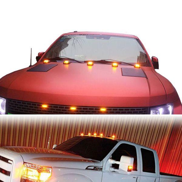 5 Pcs/Set 9 Leds 12V Vehicle Work Light Truck SUV Cab Roof Marker Car for Ford Dodge RAM LED Top Flood Beam Driving Lamp