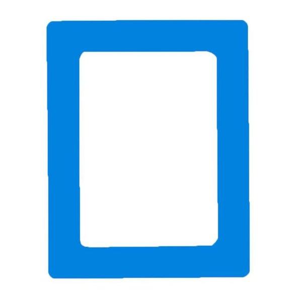 bleu 5 pouces