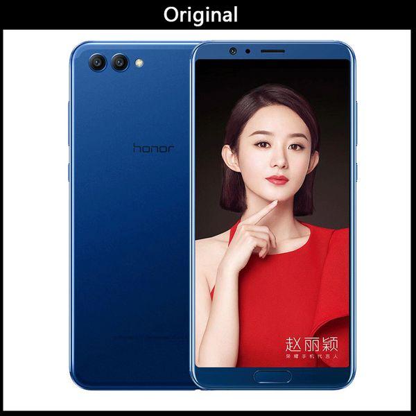 Wholesale Original Huawei Honor V10 Phone Octa Core 6G 64/128G 5.99inch 2160X1080P FingerPrint Dual Rear Camera Global firmware Andriod 8.0