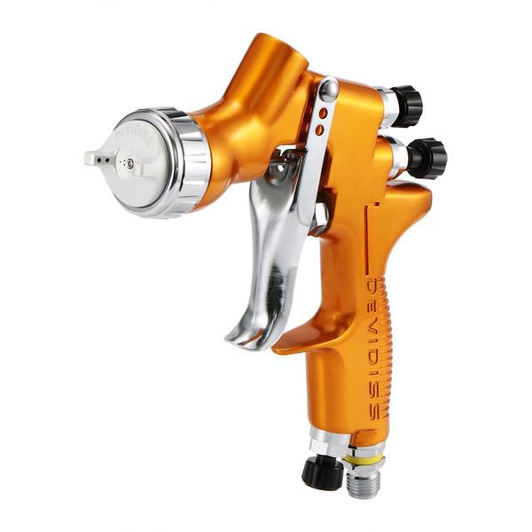 High Efficiency Spray Gun 1.3mm Nozzle Paint Car Wash TE20 Automotive Refinishing Golden Painting Gun