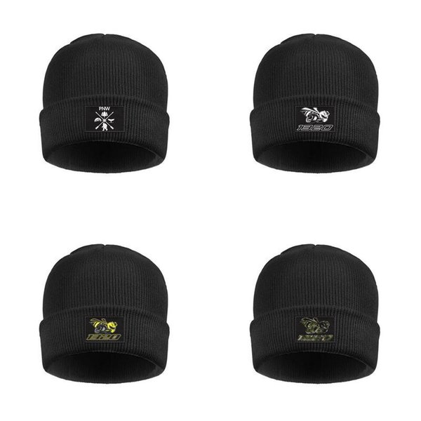 Wool Beanie Cap Knit Caps Fine Knit Beanie HatsSki Warm Men Dodge-Scat-Pack-Logo
