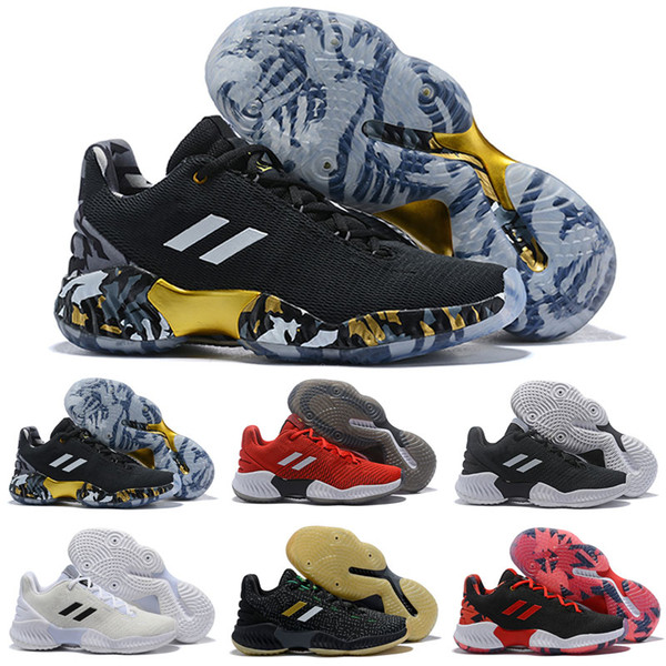 2019 new pro bounce low kids basketball shoes Donovan Mitchell shoes men sports original designer