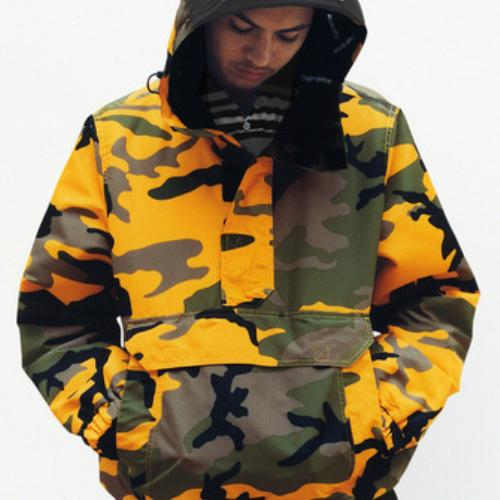 17FW production indépendante de Brooklyn Jaune Camouflage Noir Manteau BK Veste homme et une femme Veste J1