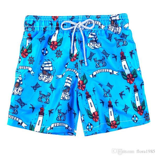 # 223 mavi Vilebre Klasik Marka Erkekler Plaj Kurulu Şort Kaplumbağalar Flamingo Man Erkek Yıkanma Şort Hızlı Kuru Stretch Swimtrunks Boyut