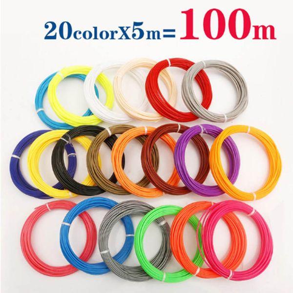 20 الألوان 100M