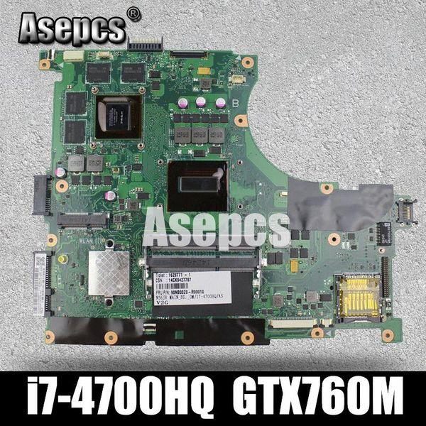 Asepcs N56JR Laptop Motherboard für ASUS N56JR N56JK N56J N56 Test Original-Motherboard I7-4700HQ GTX760M-2G