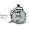 Fashion Accessories Key chains, Barn hair don't care, Home is where your horses is, Now I have horses,Horse Keychain, Fly without wings