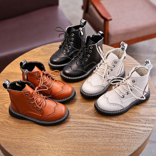 best selling 2019 new kids boots girls boots boys boots kids Martin boot big kids shoes girls shoes boys shoes children shoe SH04