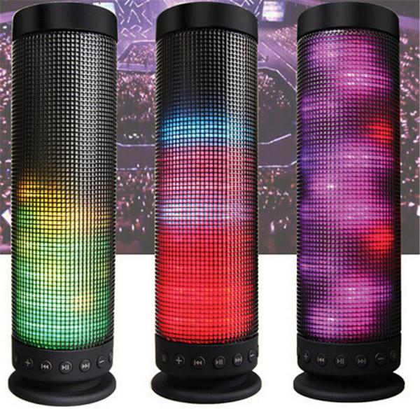 2019 neue gute artikel Led-lampe Lautsprecher Symphonie Bluetooth Lautsprecher TF-Karte Freisprecheinrichtung Wireless Lautsprecher mode