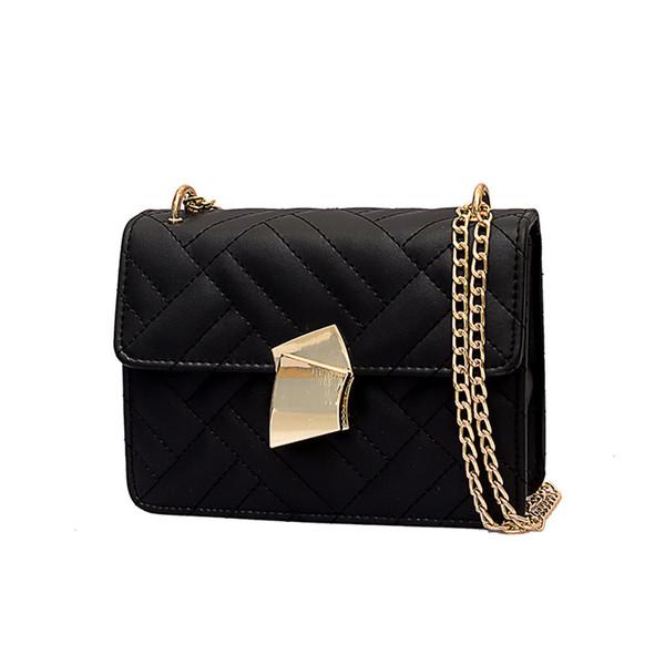 Women Embroidery Fan Lock Messenger Bag Shoulder Bag Simple Fashion Small Square