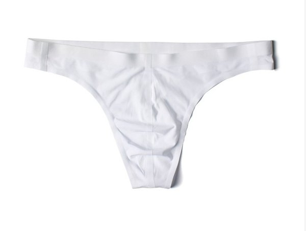 Men's thong one-piece non-marking sexy low waist personality single-sleeve underwear men's T pants