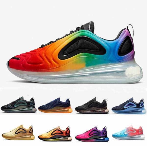 Compre 2019 Nike Air Max Airmax 720 Black Volt Be Ture 720s Chaussures Hombres Zapatillas De Deporte Zapatillas Futuras Series Upmoon Cabina Jupiter