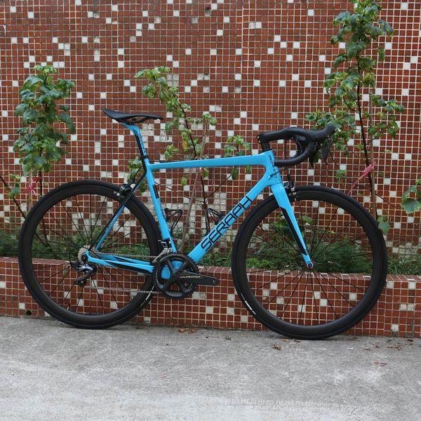 2020SERAPH BIKE Carbono Road Bike completa Carbono ciclismo da bicicleta da bicicleta da estrada com Shimao R8000 22 velocidade Groupset