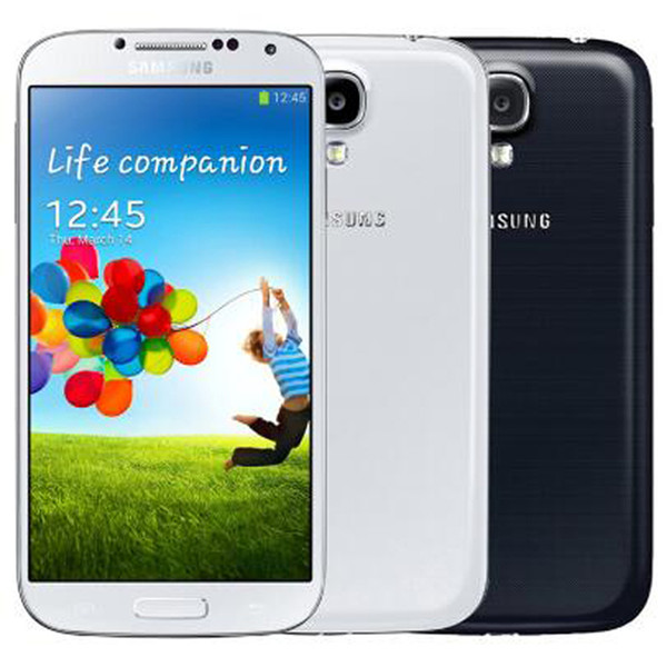 best selling Refurbished Original Samsung Galaxy S4 i9500 i9505 5.0 inch Quad Core 2GB RAM 16GB ROM 13MP 3G 4G LTE Unlocked Android Smart Phone DHL 1pcs