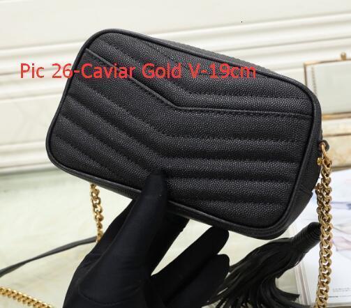 Como Pic-26 caviar ouro V-19 centímetros