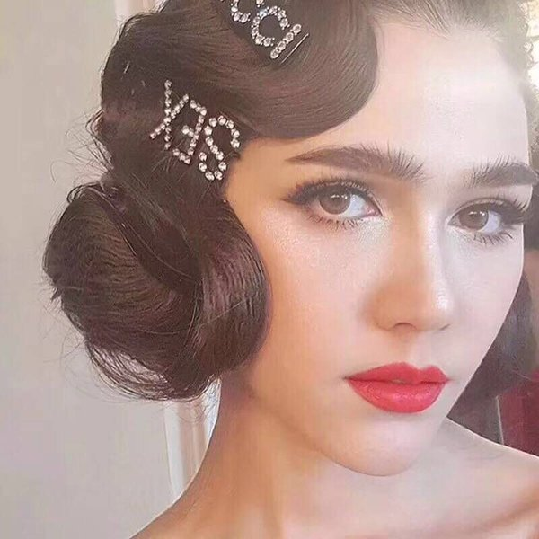 new fashion 12pcs hair clip for girl styling accessories wavy hairpins metal barrettes color bobby pins for women