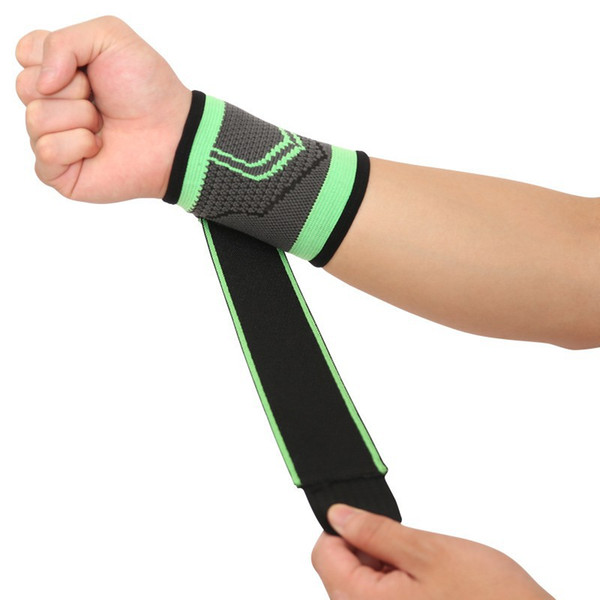 1 pair Wrist Support Gym Weightlifting Training Weight Lifting Gloves Grip Barbell Straps Gym Fitness Wraps Hand Protection
