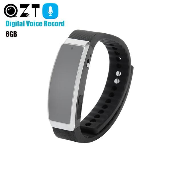 충전식 음성 레코더 손목 시계 오디오 레코더 팔찌 시계 딕 터폰 전문 디지털 MP3 소음 감소
