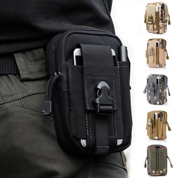 Mens Waist Bag Unisex Tactical Backpack Outdoor Waterproof Oxford Travel Drop Leg Motorcycle Fanny Pack Camping Military Army Bags Pouch