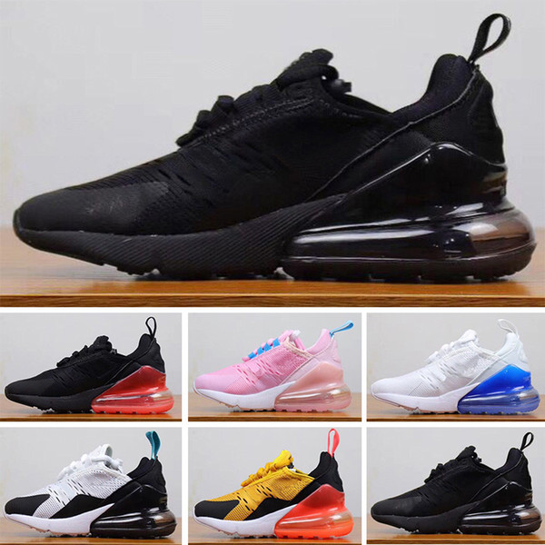 Compre Nike Air Max 270 27c Calzado De Baloncesto Para Niños Calzado Deportivo Para Niños Para Niños Y Niñas Tamaño De Envío Gratis: 28 35 A $69.55