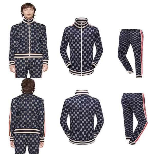 Italy Brand new Fashion designer Men medusa hoodies Sets jacket & Pants tracksuit sweat suits mens coats jackets Casual sweatshirt M-2XL