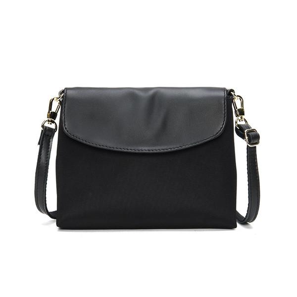 Women Waterproof Fabric Small Shoulder Bag Casual Lady Purse Simple Flap Bag Handbag Mobile Cellphone Pouch Cross Body Practical #164943