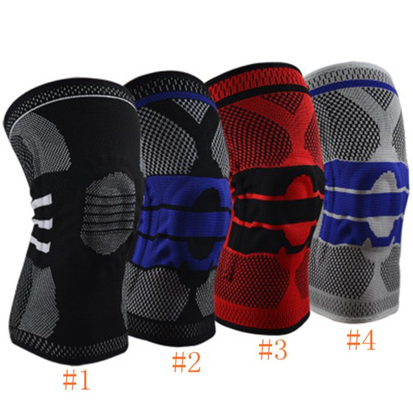 Ginocchio elastico supporto ginocchiera ginocchiera regolabile ginocchiera pallavolo gomito basket guardia di sicurezza cinturino protezione ZZA649