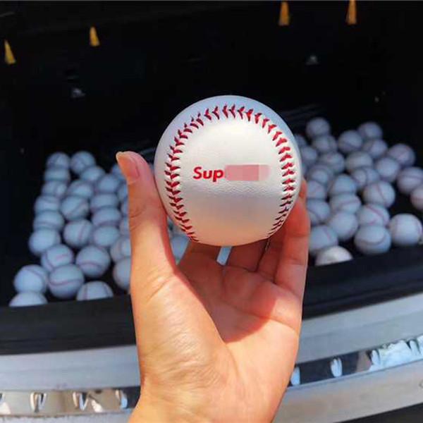 клон белый бейсбол спорт сшитый вручную софтбол из кожи хип-хоп стрит спорт черный ободки для бега фитнес