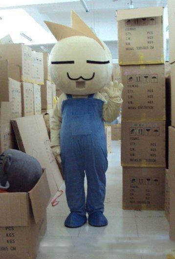 Nuevos productos personalizados de encargo de la mascota del traje del personaje de dibujos animados del bebé de la cebolla por encargo (s.m.l.xl.xxl) Envío libre