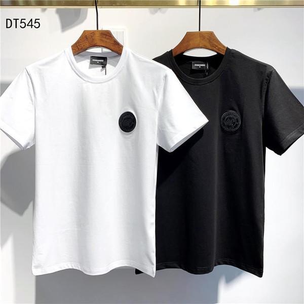 2020Designer Summer 19DSquared2 NouveauDSQ2 Arrivée de qualité supérieure de luxe Tees Vêtements pour hommes D2 Imprimer T-shirts M-3XL DT545