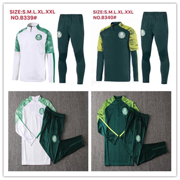 2019/20 Chaqueta Palmeiras Kits de traje de entrenamiento JERSEY DE FÚTBOL DUDO R. GOULART Palmeiras ALLIONE CLEITON XAVIER 2019 2020 CAMISA de fútbol