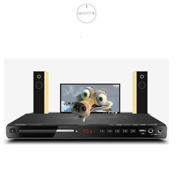 KYYSLB 36 * 21 * 3.3 cm 10 W DVD Player 5.1 Canal Início EVD Leitor de Cartão USB Leitor HD Crianças VCD CD Portátil Full Format